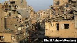 Сирійське місто Дейр-ез-Зор 19 лютого 2014 року