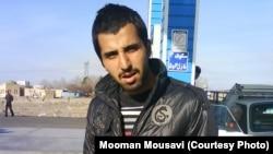 Former Iranian political prisoner Hooman Musavi, undated
