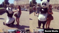 Украина -- Улица Крещатик