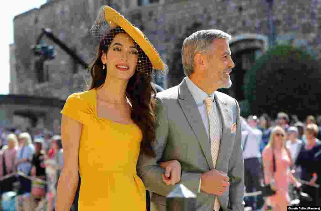 Супруги Амаль и Джордж Клуни – в числе гостей