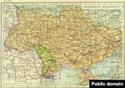 Крым в составе Украинской ССР