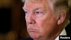 Birleşen Ştatlaryň prezidenti saýlanan Donald Tramp.