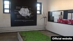 Sala memorialului de la Sighet dedicată victimelor colectivizărilor și deportărilor forțate
