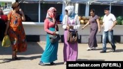 Продавцы валюты, Туркменистан