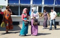 Aşgabatda dollaryň 'gara bazardaky' nyrhy 7 manatdan geçdi