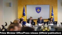Sednica Vlade Kosova, Priština, fotoarhiv
