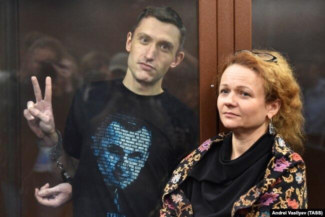 Константин Котов в суде, 5 сентября 2019 года