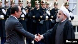 Франсуа Алянд і Хасан Ругані