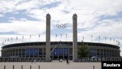 Олимпийский стадион в Берлине. Иллюстративное фото.