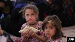 Civilë irakianë në Mosul