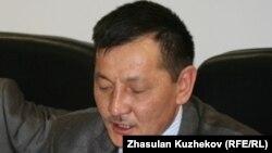 «Желтоқсан ақиқаты» ұйымының белсендісі Құрманғазы Рахметов. Астана, 24 наурыз 2011 жыл.