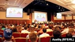 Дөнья татар яшьләре форумы утырышыннан күренеш