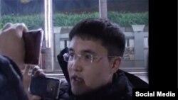 Кадр из видео с участием Эльмырзы Давыдова.