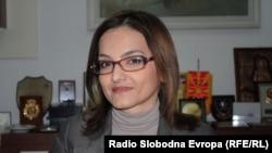 Macedonian Interior Minister Gordana Jankuloska