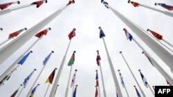 Drapele ale ţărilor membre ale NATO