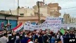 Протесты в Эль-Камышлы, 29 апреля 2011