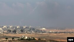 Израелски воздушни напади врз Појасот Газа.