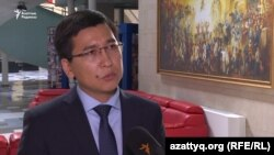 Заместитель министра образования и науки Асхат Аймагамбетов.