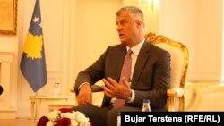 Косовскиот претседател, Хашим Тачи