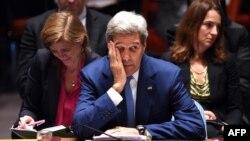 Джон Керрі на скликаному Росією засіданні Ради безпеки ООН, 30 вересня 2015 року