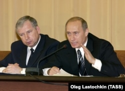 Віктор Черкесов і Володимир Путін
