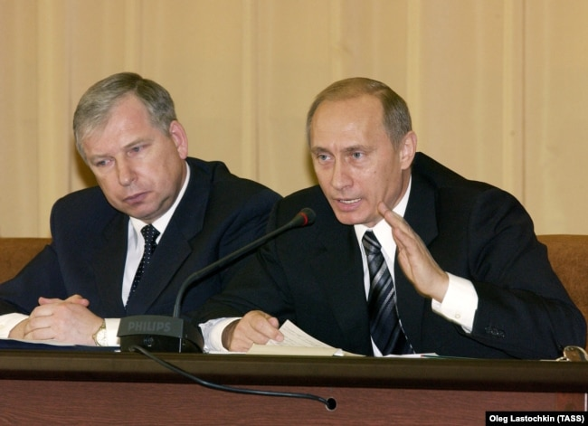 Владимир Путин и Виктор Черкесов