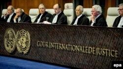 Иллюстративное фото. Международный суд ООН в Гааге, 3 февраля 2015 года