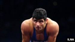 Iranian freestyle wrestler, Alireza Karimi