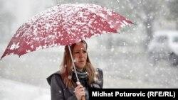 Синоптики прогнозують мокрий сніг у Львові в середині наступного тижня