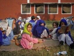 د ځوانانو غږ( افغانستان او قبایلو ړنګې شوې تعلیمي ادارې)