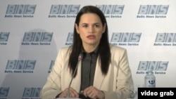 سویتلانا تیخانوفسکایا، رهبر اپوزیسیون بلاروس