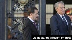 Premierul Ludovic Orban și ministrul de Interne Marcel Vela