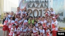 Волонтеры Казанской Универсиады