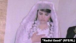 Акси арӯсии Мафтуна Раҳмонова