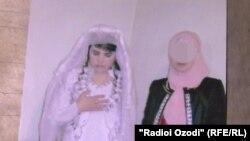 Мафтуна в день своей свадьбы. Фото из семейного архива
