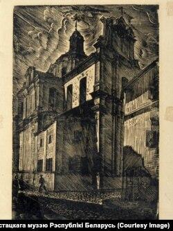 Дамініканскі касьцёл у Вільні. 1937