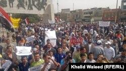مظاهرات إحتجاج في بغداد