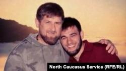 Глава Чечни Рамзан Кадыров и его племянник Ибрагим Закриев, архивное фото