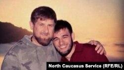 Ибрагим Закриев со своим дядей Рамзаном Кадыровым. Архивное фото.