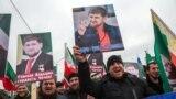 Портреты главы Чечни Рамзана Кадырова