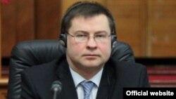 Латвия премьер-министрі Валдис Домбровскис.
