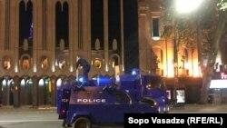 Tbilisidə polis maşını