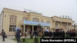 Анжиян шаарында Кыргызстандан барган делегацияны кабыл алуу, 1.10.2016