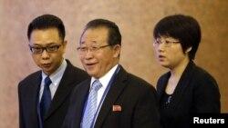 Првиот заменик министер за надворешни работи на Северна Кореа Ким Кије Гван