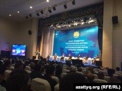 Ақтөбе қаласында өткен ауыл әкімдерінің респбуликалық форумы. 2 қараша 2017 жыл.