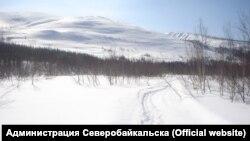 На окраине Северобайкальска, Бурятия