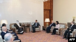 President Bashar Assad meets with Arab League delegation hoping to end the violence in Syria.