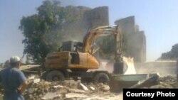 Повалення будинку у Шахрисабзі, фото архівне