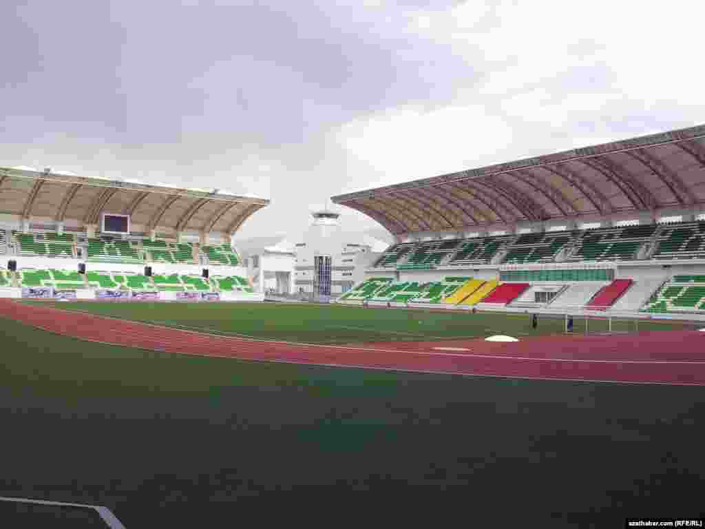 Stadion 20 müň tomaşaça niýetlenen