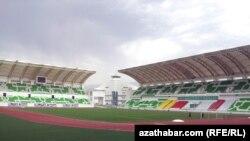 Спортивный стадион в Ашгабате. Иллюстративное фото.